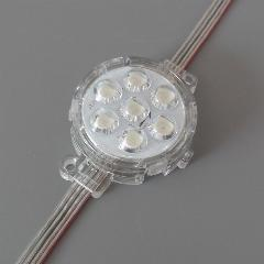 50mm-diameter-ucs1903-diffused-led-pixel-module-full-color-5050-smd-rgb-dc24v-led-lighting-modules-for-signage-clear-cover